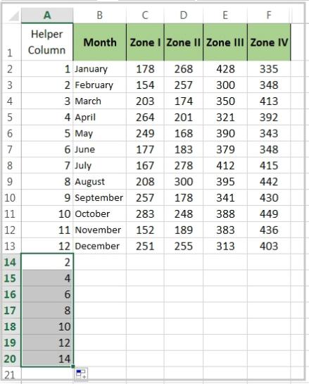 Insert Blank Rows In Excel